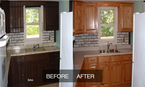 Terrific American Cabinet Refinishing And Refacing Saving On Home Interior And Landscaping Ologienasavecom